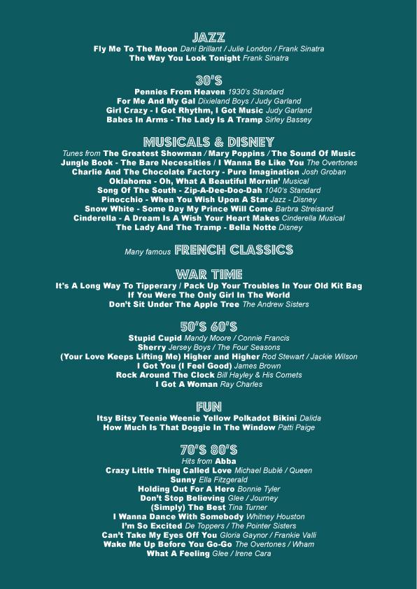 Mixed Setlist 2