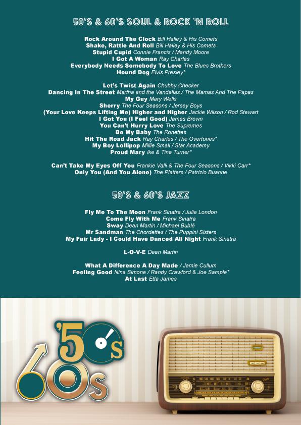 50s 60s Mix